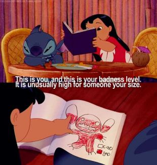 Lilo explaining